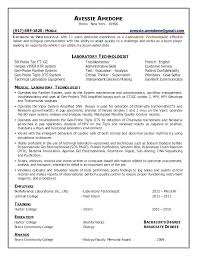 Chemistry Lab Technician Resume Chemistry Lab Technician Resume ...