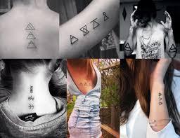 O Que é Um Glifo Tattoospiercings Tatuagem De Glifos Tatuagem
