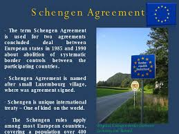 「Schengen Area treaty 」の画像検索結果