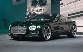 bentley sport car top speed