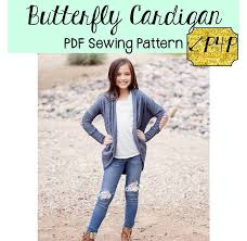 Patterns For Pirates Best Butterfly Cardigan Patterns for Pirates