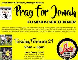 fundraiser for jonah prayforjonah