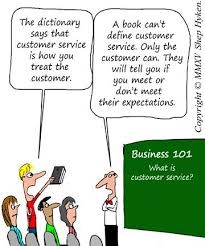Customer Service Experience Definition What Is Your Definition Of Customer Service Business Cartoons And