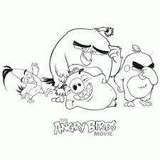 Angry Birds Movie Kleurplaten Leuk Voor Kids