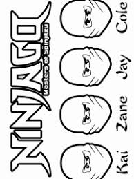 Kleurplaat Ninjago Sensei
