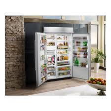 kitchenaid 48 30 0 cu ft built in side by side refrigerator
