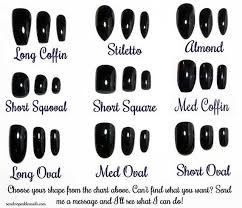 Fake Nail Sample Sizing Size Finder Nail Set Custom