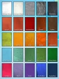 Matthews Paint Metallic Color Chart Standard Paint Colors