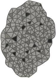 odd shaped rugs unique shaped bathroom rugs gray black triangles odd geometric modern odd shaped kitchen odd shaped rugs
