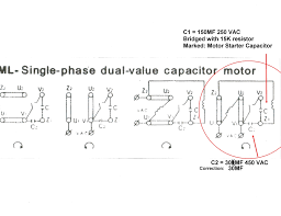 single phase motor wiring diagram pdf how to convert 3 phase motor to single phase 220v at 3 Phase To Single Phase Wiring Diagram