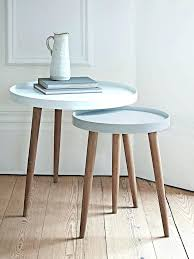 small side table incredible small white side table with best nesting tables ideas on painted nesting small side table