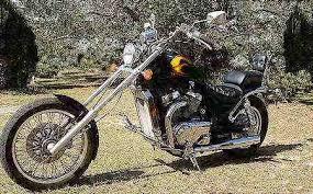 ame 14 degree bolt on chopper kit fits suzuki vs800 models