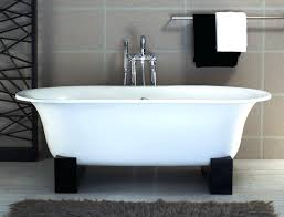 stand alone bathtubs triangle re bath freestanding bathtub with black resin to white stand alone tub stand alone bathtubs