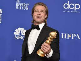 The Best Brad Pitt Moments From the 2020 Golden Globes