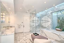 in shower lighting. In Shower Lighting. There\\u0027s No Reason Why Corner Showers Need To Feel Small And Cramped. This Walk-in Shower\\u0027s Glass Walls Large Footprint Lighting