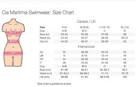 Us Swimsuit Size Chart Need Help With Swimwear Sizes This Might Help Blog By