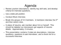 Mock Interviews Workshop Ppt Video Online Download