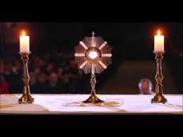 Znalezione obrazy dla zapytania adoracja najświętszego sakramentu