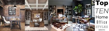don39t love homeoffice. 10 Home Office Styles We Love Don39t Love Homeoffice