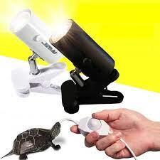 UVA + UVB 3.0 sürüngen lamba kiti Clip on seramik ışıklar tutucu kaplumbağa  Basking UV ısıtma lambası seti kaplumbağa kertenkele aydınlatma Habitat  Lighting