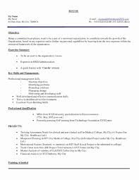 Sample Resume For Diploma Electronics Freshers New Resume Format