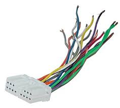 amazon com scosche reverse wiring harness for 1991 up mitsubishi scosche reverse wiring harness for 1991 up mitsubishi power speaker connector