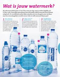 Feit of fabel: Drink 2 liter water per