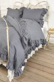 vintage ruffle duvet cover from full bloom cottage love the comforter set i would