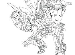 Transformers Coloring Pages Printable Camelliacottageinfo