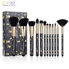 <b>Docolor Makeup Brush</b> Set <b>14PCS</b> Professional <b>Make Up Brushes</b> ...