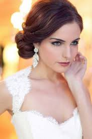 pix for wedding makeup for green eyes and brown hair