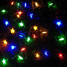 Outdoor Holiday Lights 4m 40 Stars Led String Landscaping Home Garden Room