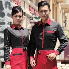 Restaurant Hostess Us 22 56 20 Off Fast Food Restaurant Uniform Restaurant Hostess Uniform Chinese Restaurant Waiter Uniform Restaurant Clothing In Chef Jackets From
