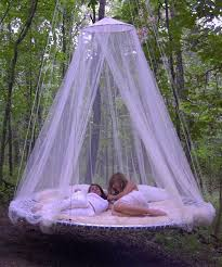 Outdoor Canopy Bed okay, now change the color, 86 the girls, add some