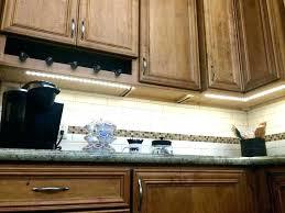 amazing installing led strip lights under cabinet or high light tape kitchen natural white diy lighting