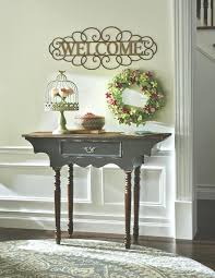 small table for entryway. decorating a small entryway table for auction very i