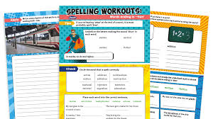 250 free phonics worksheets covering all 44 sounds, reading, spelling, sight words and sentences! Year 2 Words Ending In Tion Spelling Worksheets Ks1 Spag Workouts Plazoom