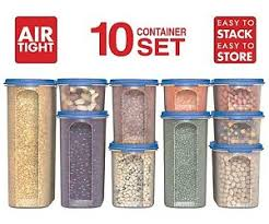 dry food storage containers. Image Is Loading Food-Storage-Containers-STACKO-20-PC-Airtight-Dry- Dry Food Storage Containers N