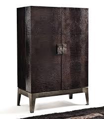 Moderner Barschrank Aus Nussbaum Aus Ebenholz Metall