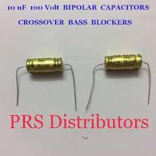 10 uf 100 volt bipolar capacitor bass blocker speaker tweeter image is loading 10 uf 100 volt bipolar capacitor bass blocker