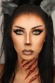 if you want makeup that s both y and fierce this werewolf look is perfect the makeup isn t too plicated but the claw marks on the neck