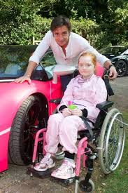 richard hammond rays of sunshine | ... by Richard Hammond, was a dream come  true for young Emilia Palmer | Pink lamborghini, Top gear, Make dreams come  true
