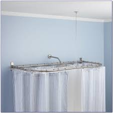 corner shower curtain rod 36 x 36