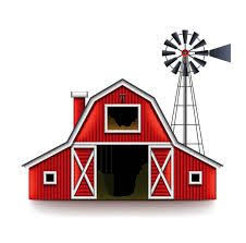 farm barn clip art. Traditional American Red Farm House Isolated Vector Art Illustration Barn . (charming Cartoon Clip