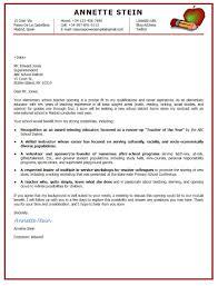 Elementary Teacher Cover Letter Samples 70 Images Elementary