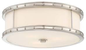 minka lavery 827 84 3 light 15 wide flush mount drum ceiling fixture