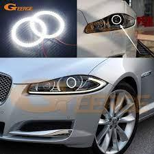 For Jaguar Xj 2011 2012 2013 2014 2015 Excellent Led Angel Eyes Ultra Bright Illumination Smd Led Angel Eyes Halo Ring Kit Jaguar Xj Jaguar Led Angel Eyes