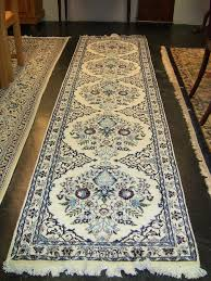 large persian tabriz runner signed