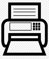Fax Png Icon 5 Fax Machine Logo Png Free Transparent Png Clipart