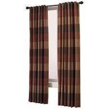allen roth emilia polyester back tab light filtering standard lined single curtain panel